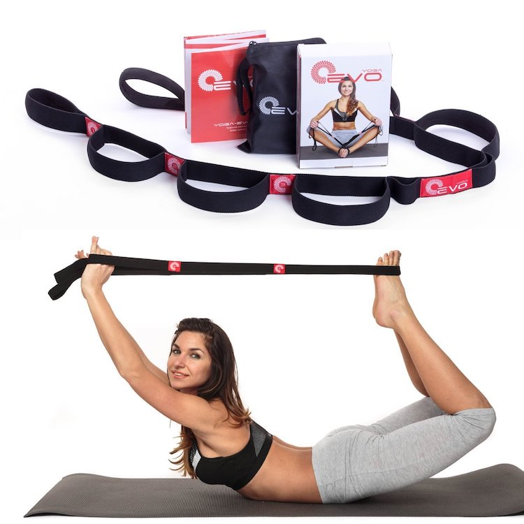Yoga EVO Elastic Stretching Strap