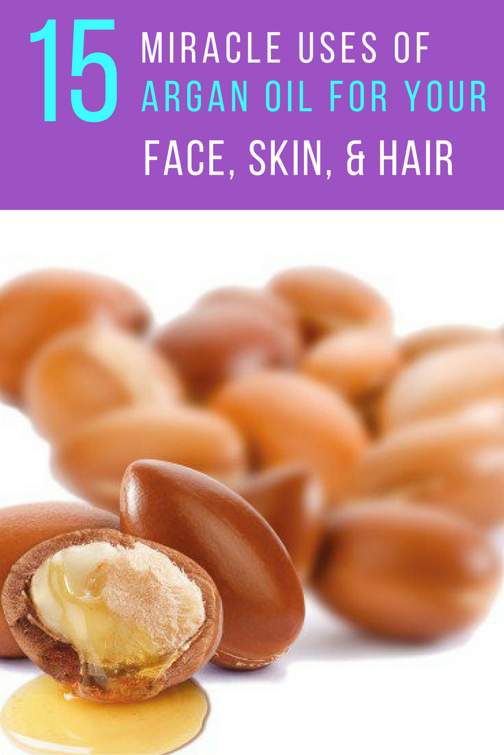 15 Miracle Uses of Argan Oil For Your Face, Hair & Skin. | Ideahacks.com