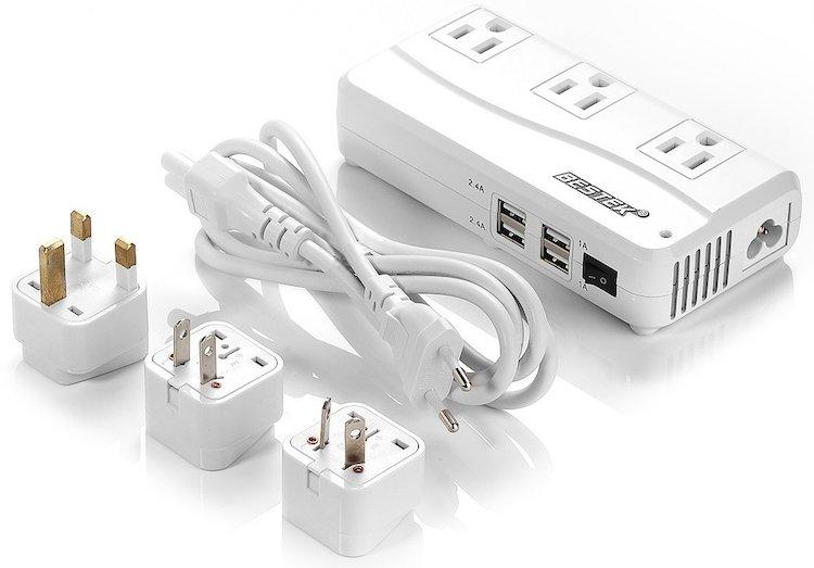 BESTEK 200W International Travel Voltage Converter