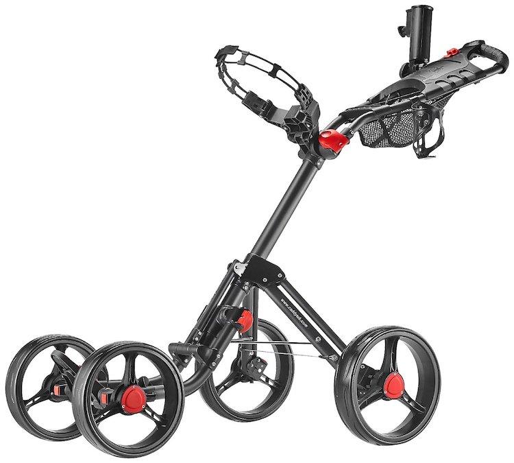 CaddyTek Superlite Explorer 4 Wheel Golf Push Cart