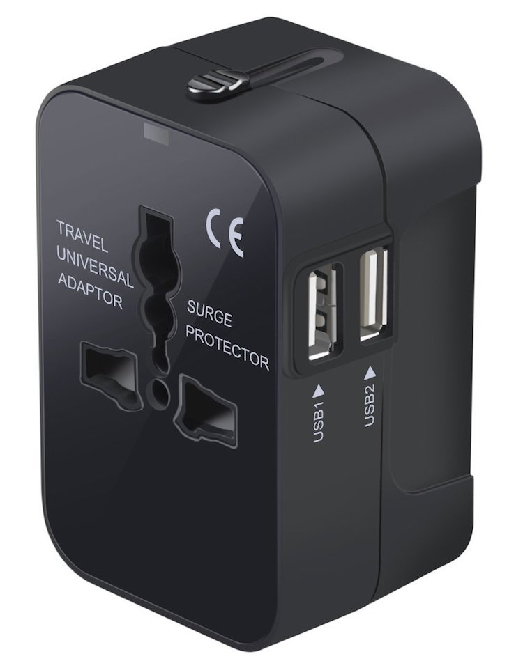 CoolingTech Worldwide All in One Universal Travel Adapter