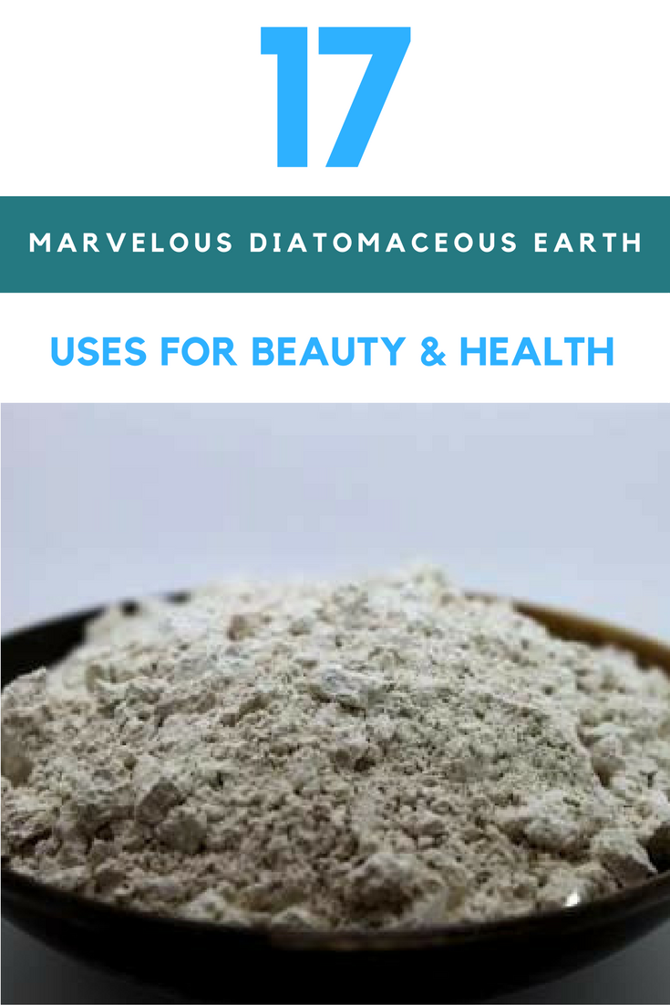 17 Marvelous Diatomaceous Earth Uses For Beauty, Health & The Home. | Ideahacks.com