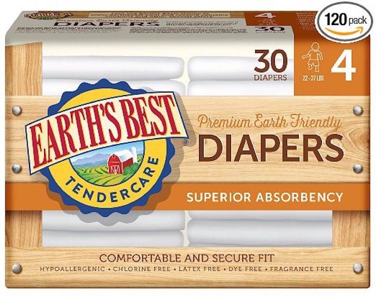 Earth's Best Chlorine-Free Diapers