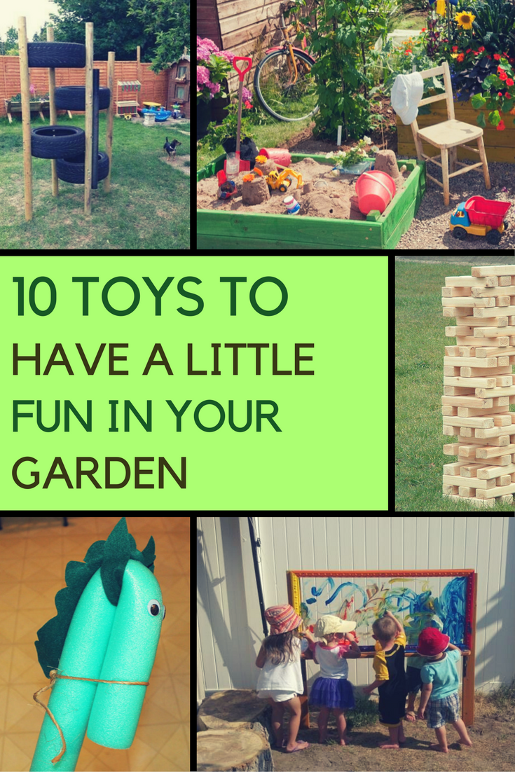 10 Very Clever Garden Toy Ideas. | Ideahacks.com