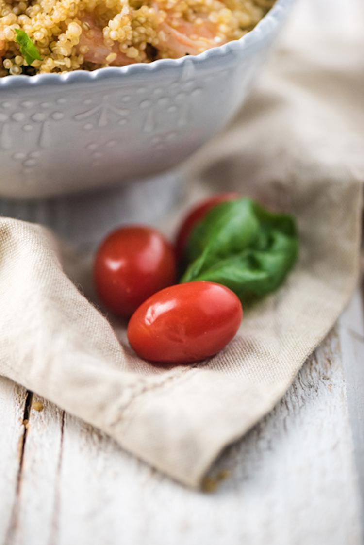 Garlic Parmesan Shrimp Quinoa Ingredients
