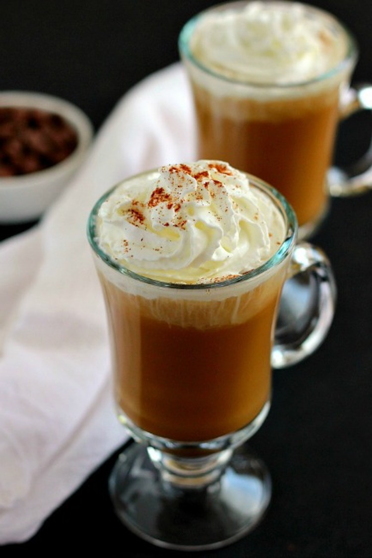 This Iced Mocha Cappuccino combines a blend of rich coffee and chocolate, mixed in with creamy vanilla ice cream! Ideahacks.com