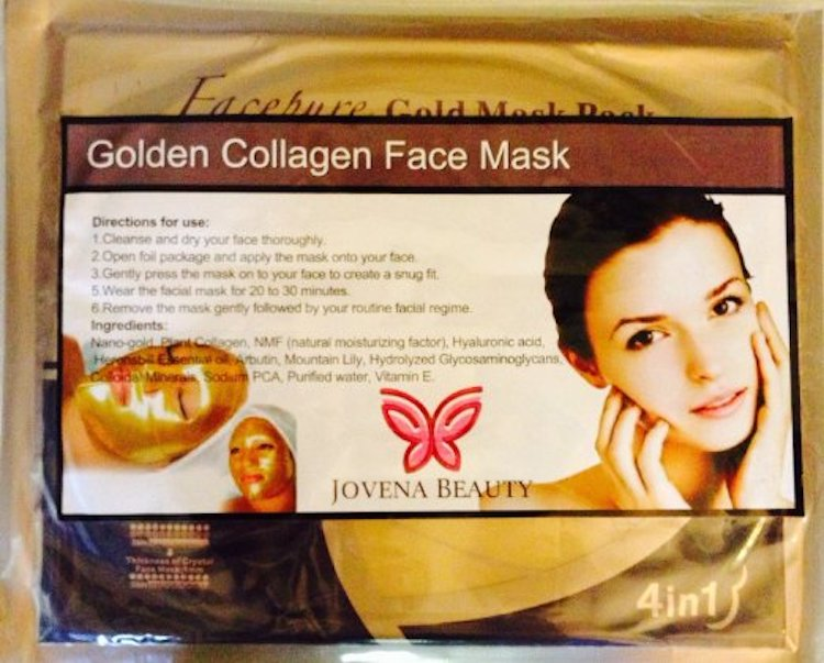 Jovena Beauty Gold Collagen Mask