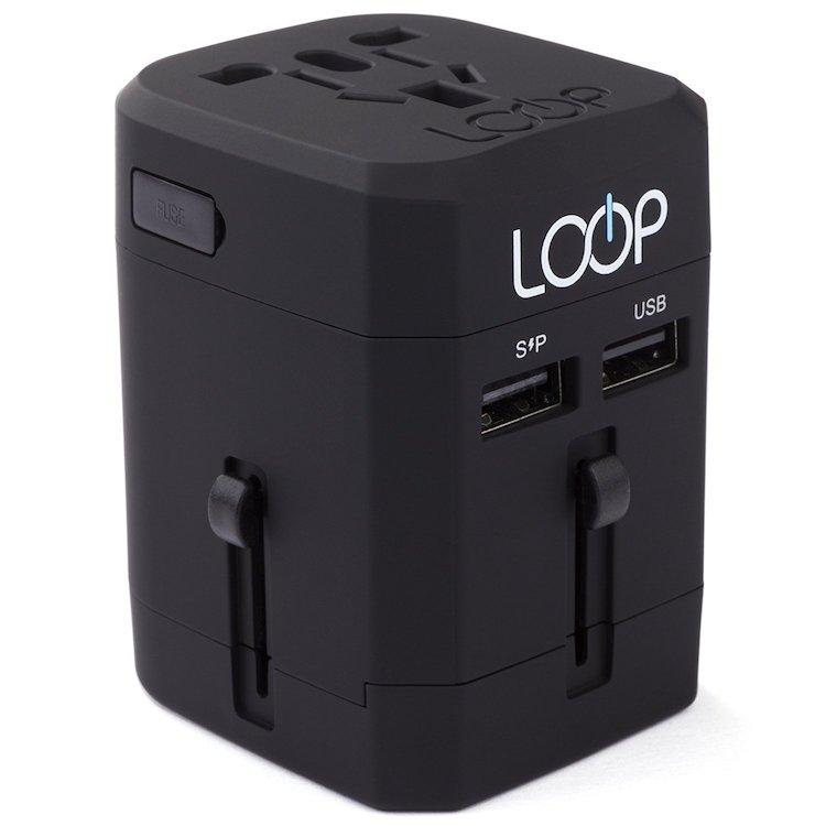 LOOP World Adapter Plug Worldwide Travel Adapter