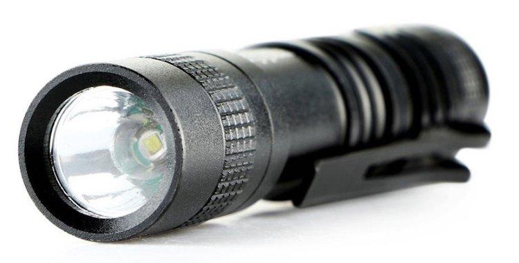 Mini Perman 1000 Lumens CREE XPE-R3 LED Flashlight