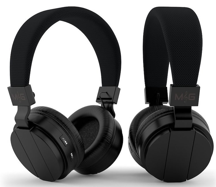Move & Groove On Ear Bluetooth Headphones