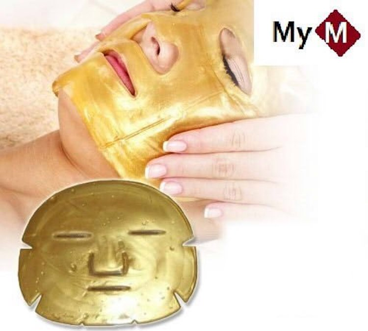 MyM Gold Collagen Crystal Mask