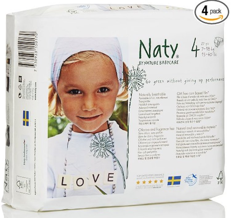 Naty Chlorine-Free ECO Diapers