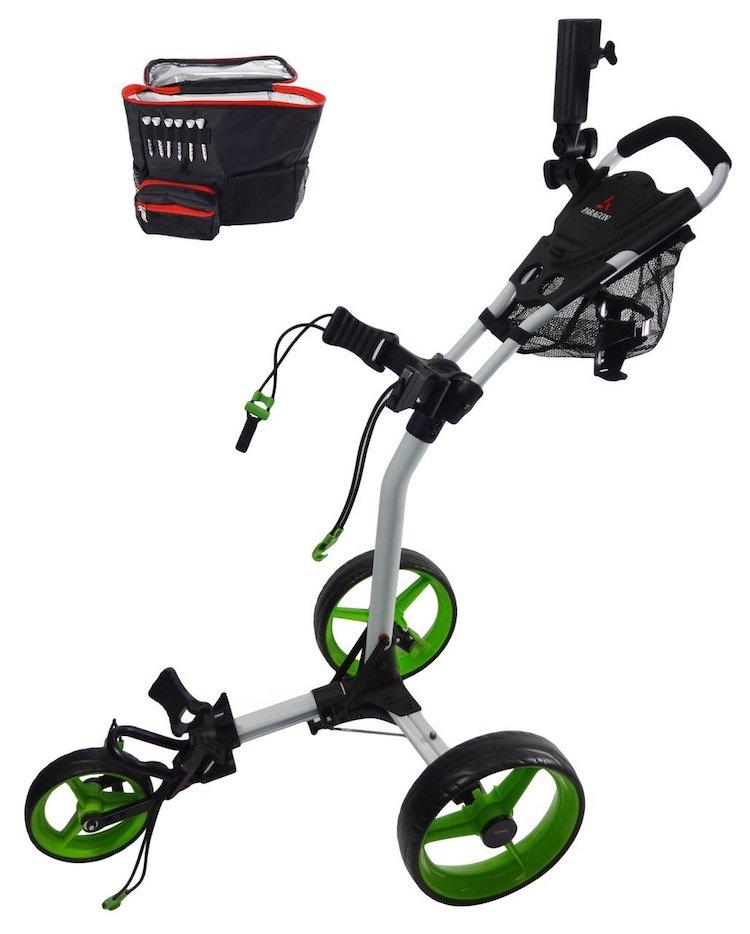 Paragon 3-wheelie Folding 3 Wheel Golf Push