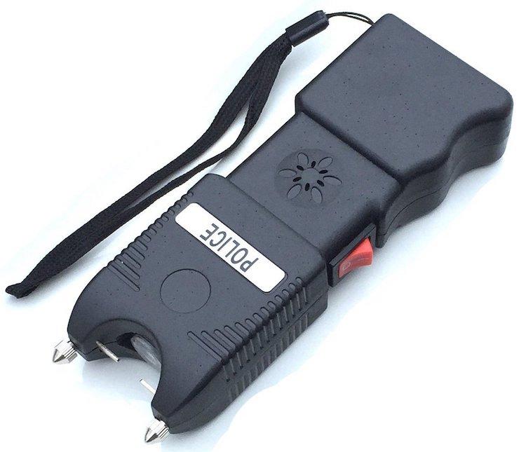 Police Heavy Duty Stun Gun Flashlight