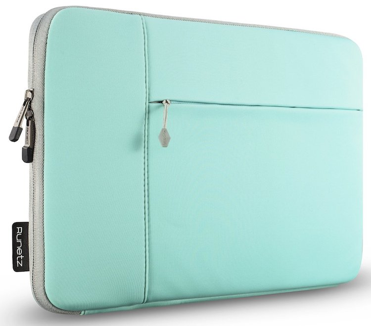 Runetz – 13-inch Hot Teal Neoprene Sleeve Case Cover for MacBook Pro