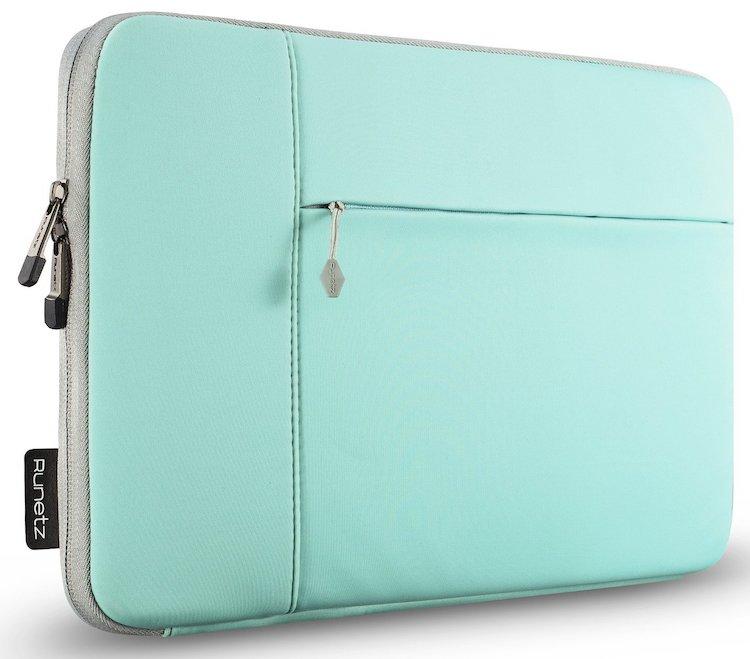 3ee57795f50 Runetz 13-inch Hot Teal Neoprene Sleeve Case Cover for MacBook Pro