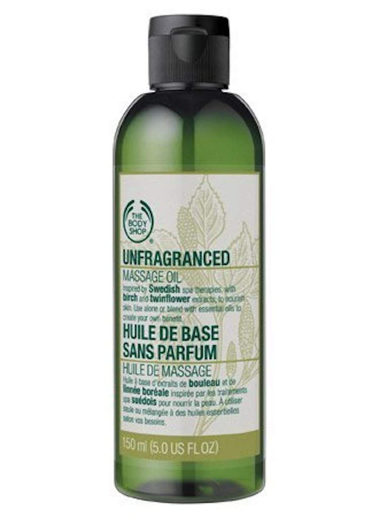The Body Shop Unfragranced Massage Oil