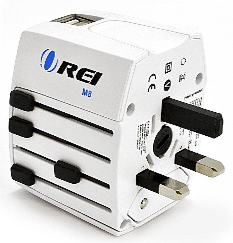 World Travel Power Plug Adapter