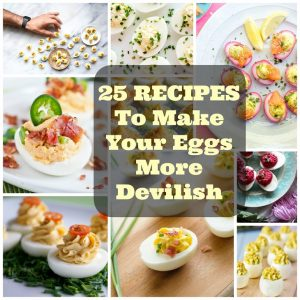 25 Recipes to Make Your Eggs More Devilish
