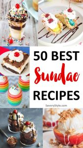 Best Sundae Recipes