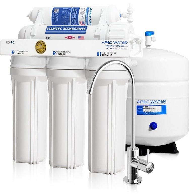 APEC Water Systems Reverse Osmosis Drinking Water Filter System
