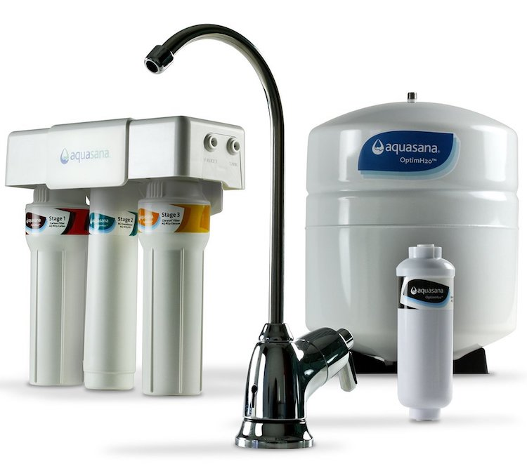 Aquasana AQ-RO-3 OptimH2O Reverse Osmosis Fluoride Water Filter
