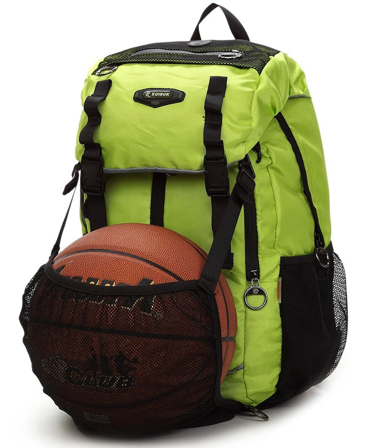 Bagland Roomy Laptop Basketball Backpack