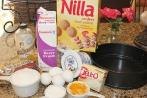 Boston Cream Cheesecake with Nilla Wafer Crust Ingredients