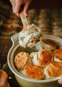 Buttermilk Biscuit Chicken Pot Pie