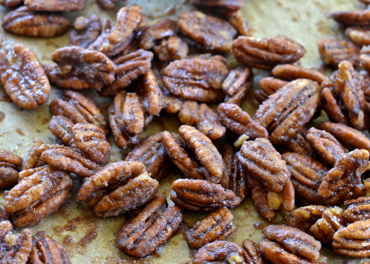 Candied Sea Salt Pecans