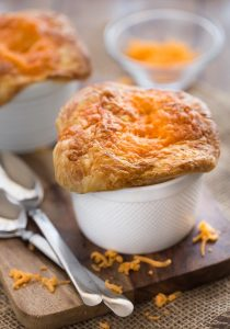 Chicken Broccoli Cheddar Pot Pies
