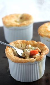 Chicken & Ham Pot Pie