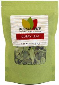 Dried curry leaves (Kari)