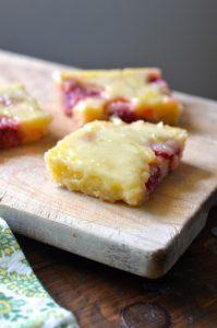 Gooey Lemon Raspberry Brownies1