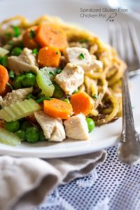 Healthy Chicken Pot Pie Potato Noodles