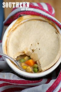 Healthy Chicken Pot Pies