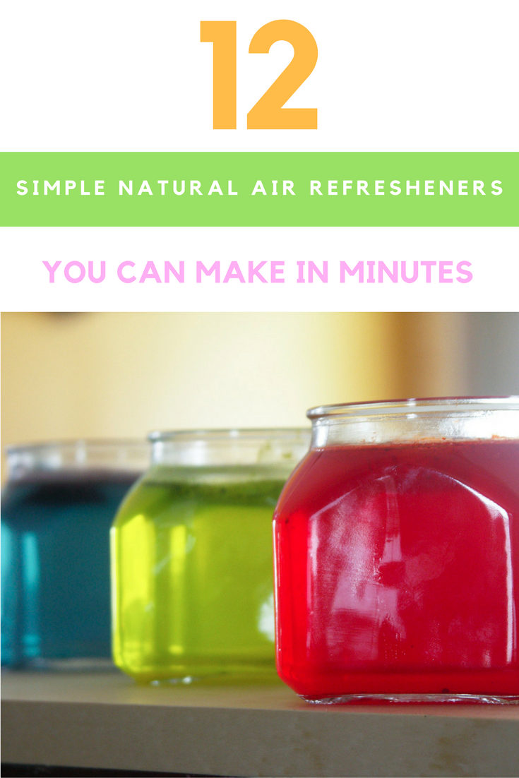 12 Simple Homemade Air Freshener
