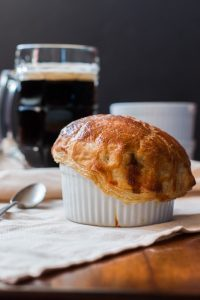 Individual Japanese Beef Curry Pot Pies