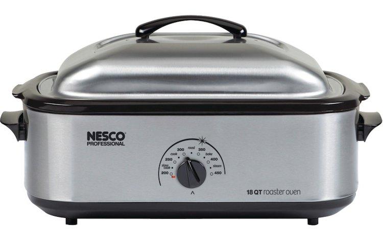 Nesco 481825PR 18 Qt. Stainless Steel Roaster Oven