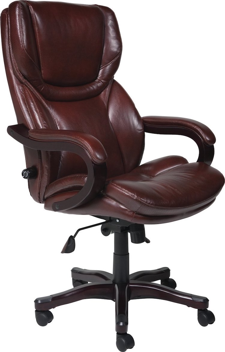 Office Chair With Bonded Leather From Serta
