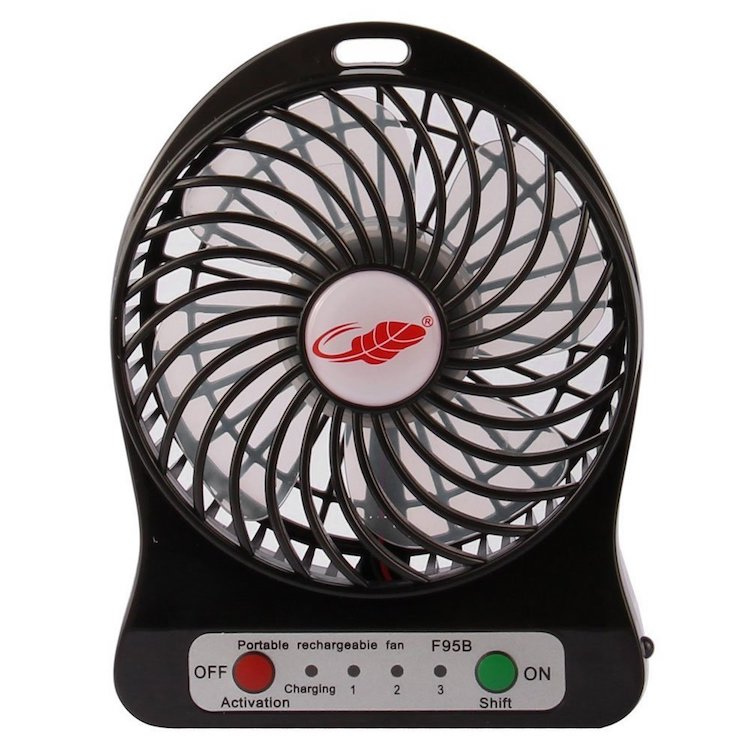Raase FB96 4-inch Portable Fan