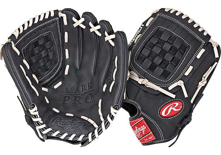 Rawlings Mark Of A Pro Basket Web Baseball Glove