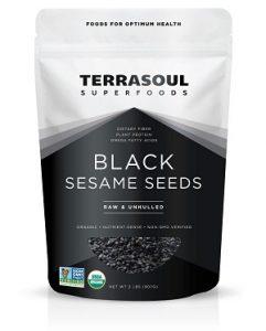 Terrasoul Superfoods Organic Black Sesame Seeds