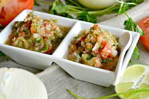 5 Minute Fresh & Spicy Blender Salsa