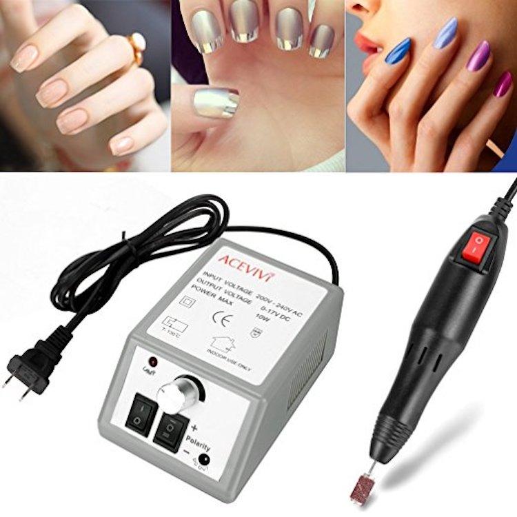 Acevivi Professional Nail Art File Drill