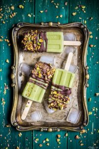 Avocado Lemon Popsicles
