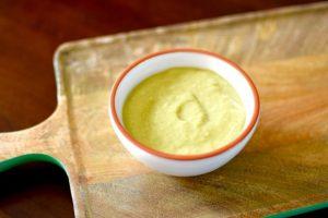 Charred Tomatillo & Avocado Salsa Verde