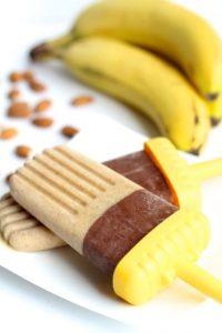 Chocolate Banana Nut Pops