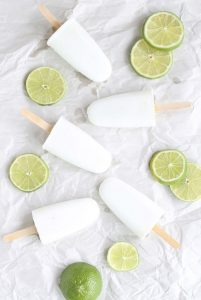 Coconut Lime Popsicles