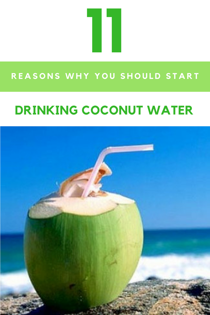 11 reasons why you should start drinking coconut water every day